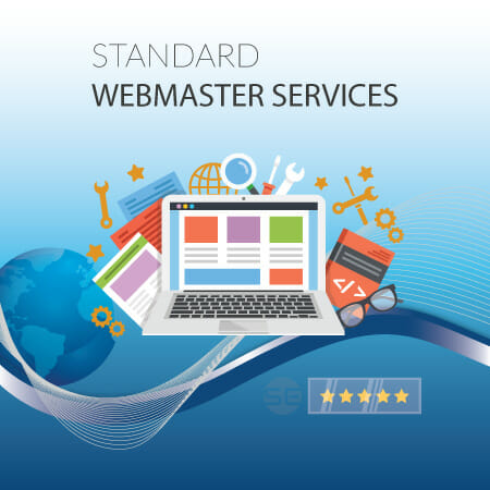 Standard Webmaster Monthly Services