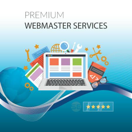 Webmaster Services - Premium